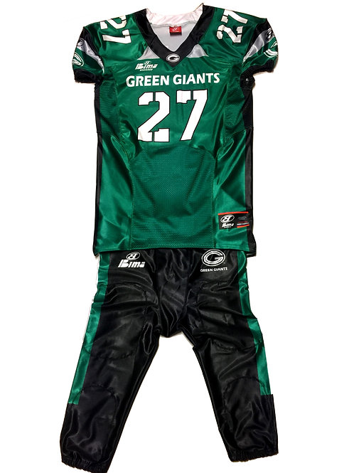 Green Giants Uniform