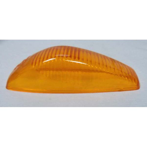 "Lens - 7.5""X2.6"" Amber Polycarbonate - 562 Series"