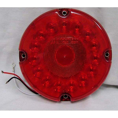"7"" Red LED School Bus Stop/Turn/Tail Light"