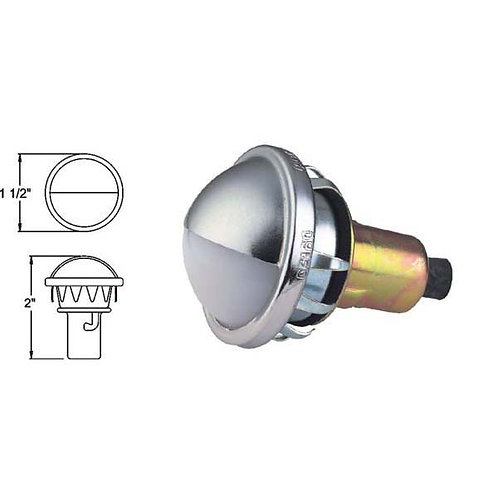 License Light w. Connector - Snap-In