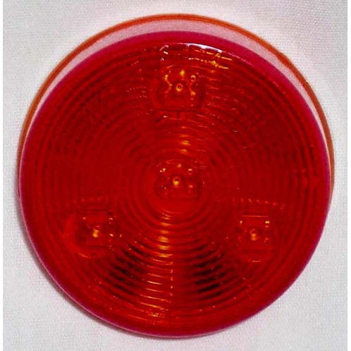 "2.5"" Round Red Clearance Marker- 4led"