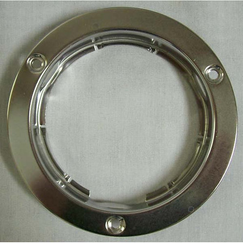 "Mounting Flange - 4"" Round - Stainless"