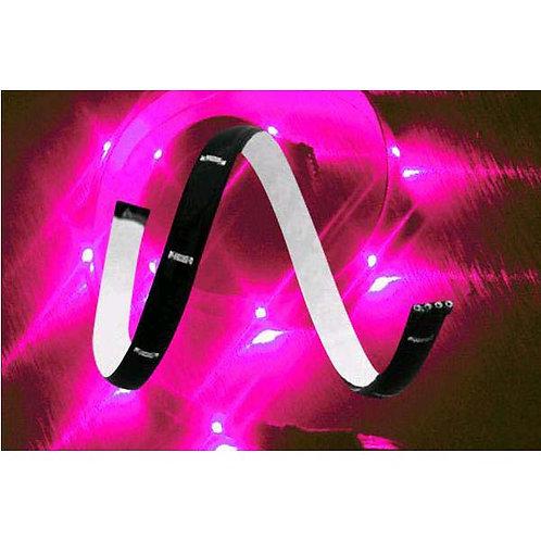 Light Strip - Plasmaglow Lumatape - 1' - Pink LED