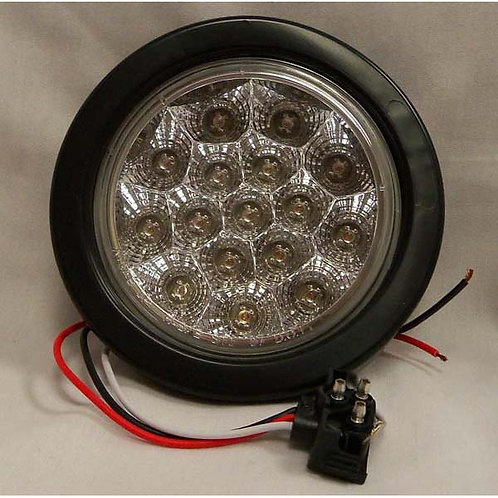 "T/S - 4"" Round Kit - Amber 16 LED"