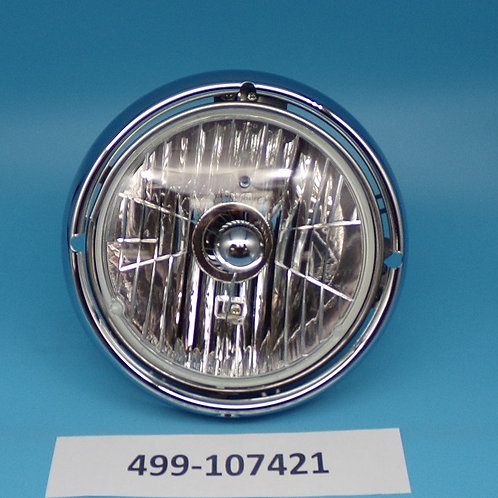 Round Headlight with assemble
