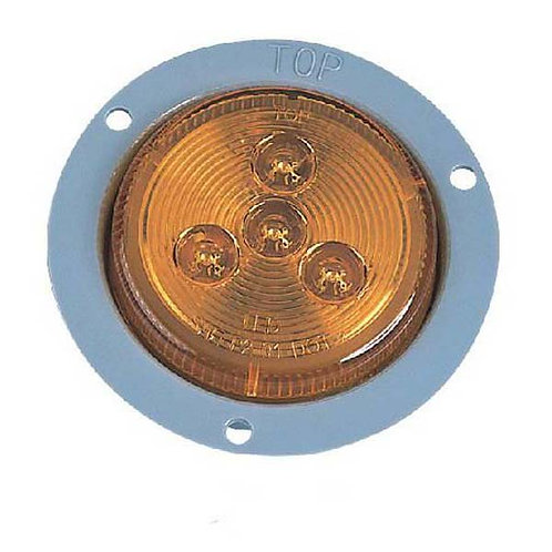"""2.5"""" Amber Clearance Marker- 4 Led"""