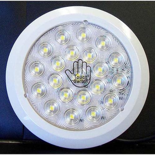 "5"" Round Clear/White Interior Light- 21 Led"