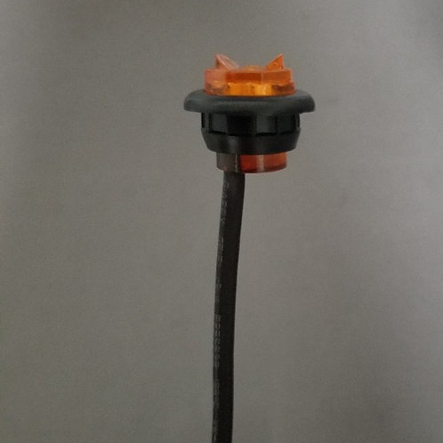 """Clearance Marker - 3/4"""" Penny Lights - Amber 2 LED"""