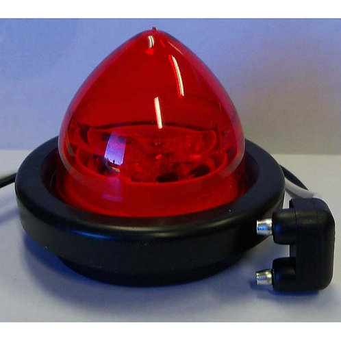 "2"" Red Reflective Beehive Clearance Marker Kit-3 Led"