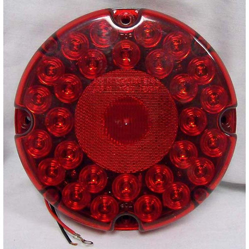 """7"""" Red LED School Bus Stop/Turn/Tail Light- 31 Led"""