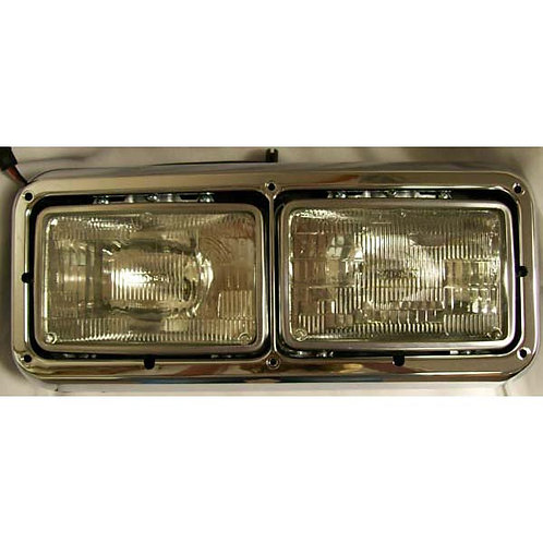 Freightliner Headlight Assembly - With Dual 4x6 GE Bulbs