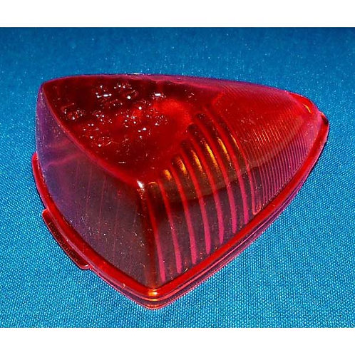 Lens - Red Acrylic - 555/9601 Series (1 Screw Hole)