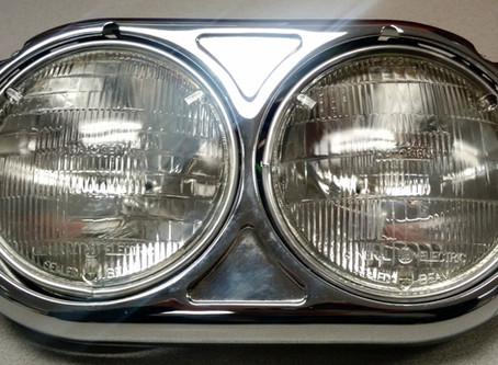 "5 ¾"" Round Sealed Beam Halogen Bulbs Are Now Obsolete"