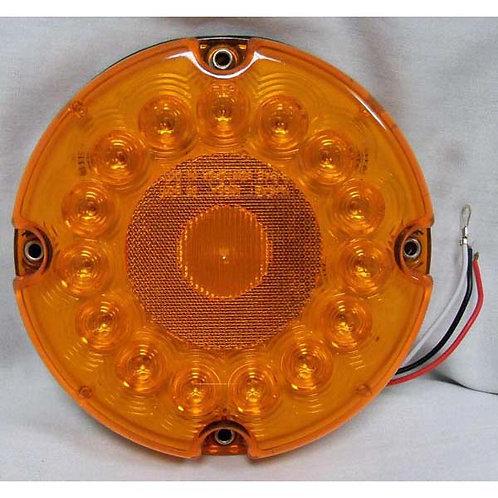 """7"""" Amber LED Park/Turn Bus Light"""