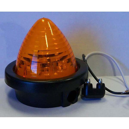 "2.5"" Amber Beehive Clearance Marker Kit- 8led"