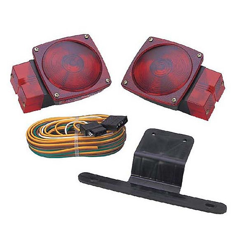 "Over 80"" Wide Trailer Light Kit"