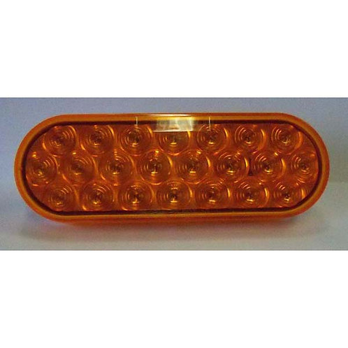 "6"" Amber Strobe Light- 22 Led"