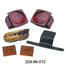 "Under 80"" Wide Trailer Light Kit Incandescent"