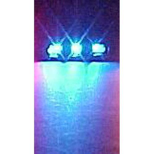 Blue LED In-Line Bar Pod