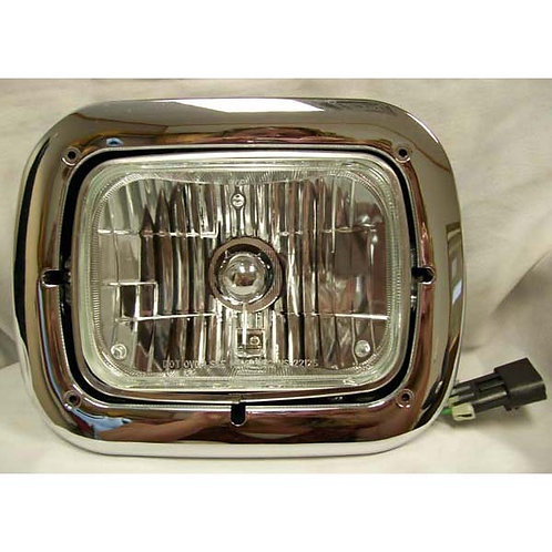 Headlight Assembly With 5x7 Replaceable Halogen