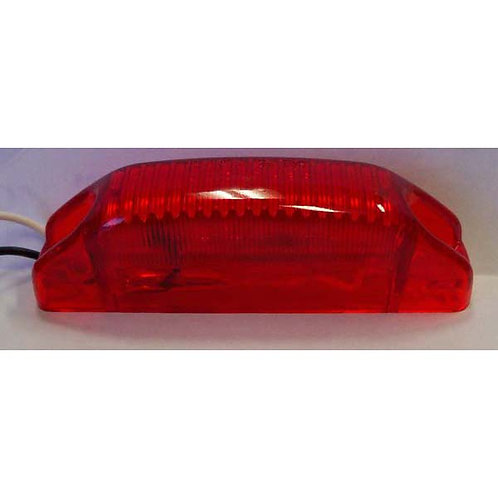Thin Red Clearance Marker- 6 Led