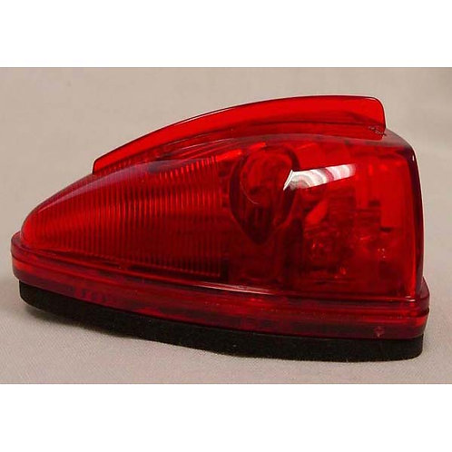 Cab Marker - Triangle - Red 15 LED