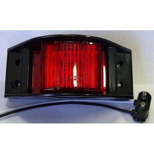 Amber Clearance Marker Light Lit- 6 Led
