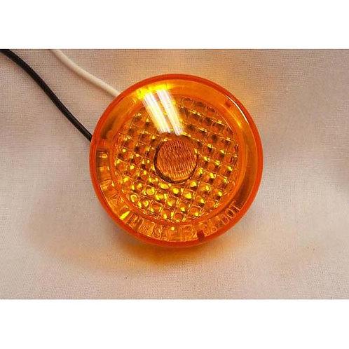 "2"" Amber Multi-Reflective LED Clearance Marker- 1 Led"