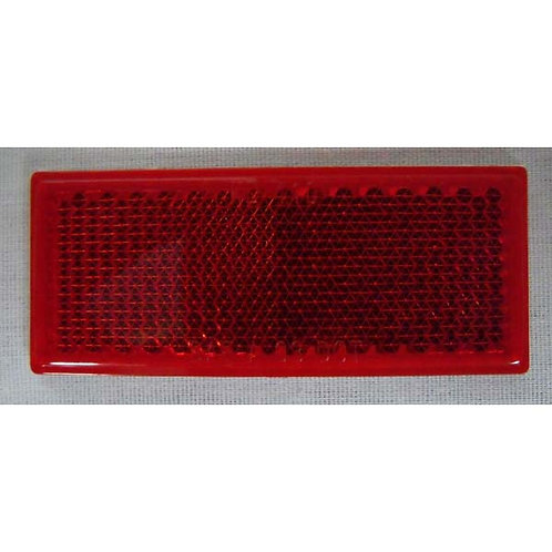 Red Adhesive Acrylic Reflector