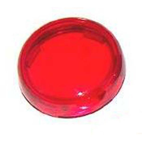Lens - Red Bullet-Style Turn Signal