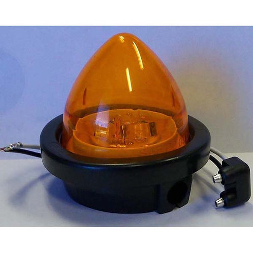 "2.5"" Amber LED Beehive Clearance Marker Kit- 3 Led"