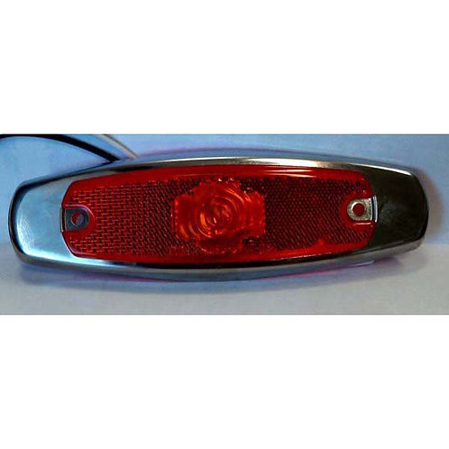 Red Clearance Marker Running Light- 2 Led