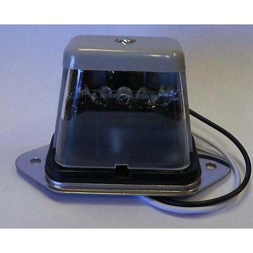 License Light - Gray - Ear Mount - 5 LED