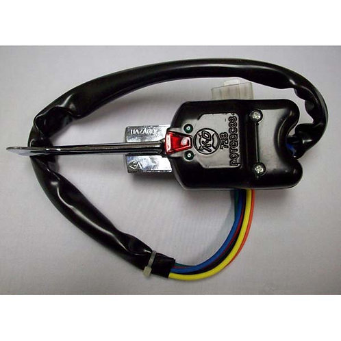 Turn Signal Switch - Black 7-Wire - Navistar