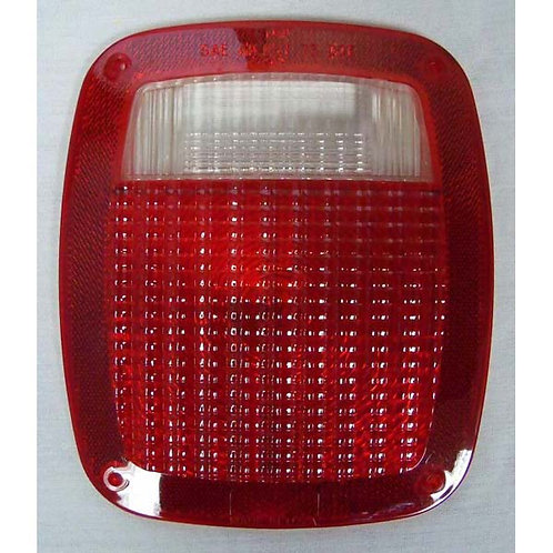 Lens - Red Reflective Polycarbonate - 257 Series