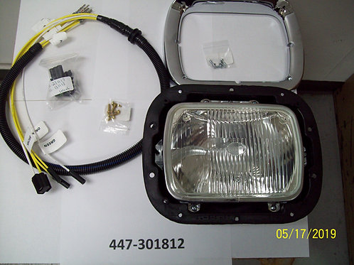 5x7 SEALED BEAM PETERBILT COMPONENT HEADLIGHT KIT