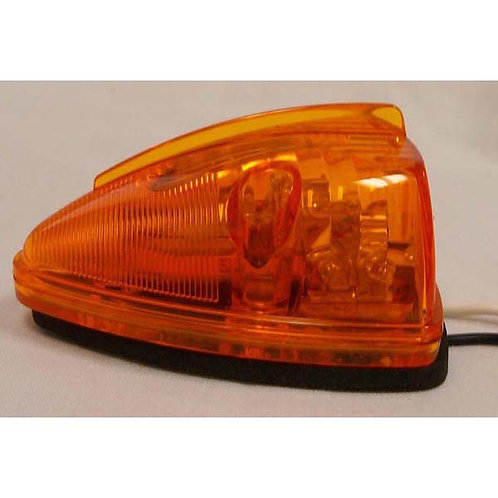 Cab Marker - Triangle - Amber 15 LED