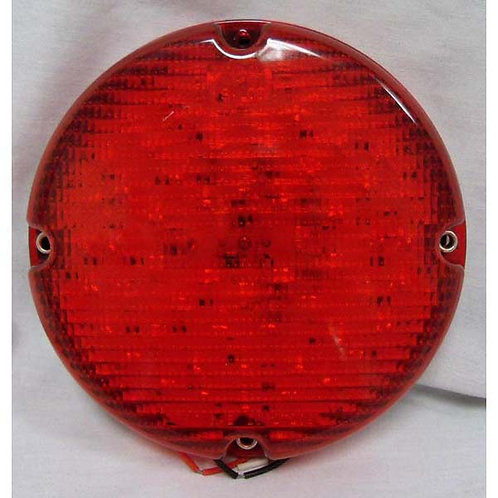 """7"""" Red LED School Bus Stop/Turn/Tail Light- 60 Led"""