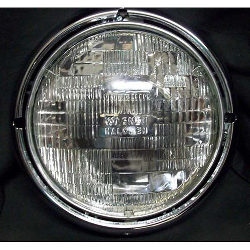 "7"" Diameter open back headlight assembly"