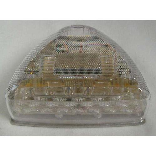Peterbilt- Pod Side Marker Turn Signal Clear Lens- Amber LED