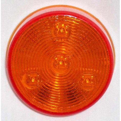 "2.5"" Amber Clearance Marker- 4 Led"
