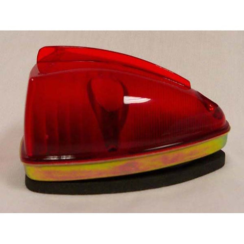 Red Wedge Clearance Marker W/ Internal Mount