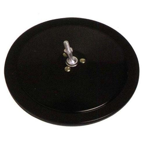 """8 1/2"""" Round Convex Head- Stainless Steel Mirror"""