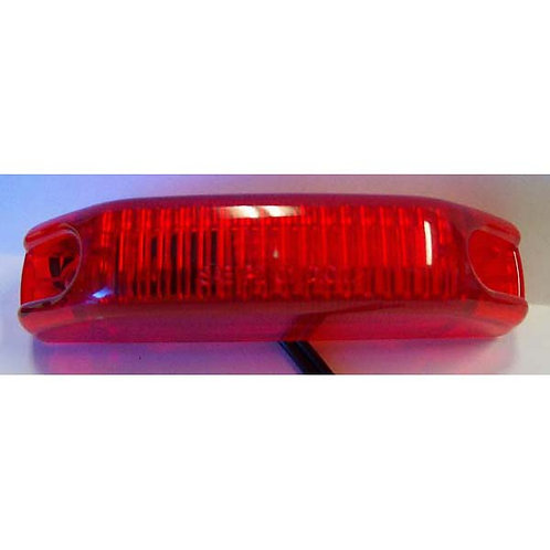 """4"""" Red Snap-In SeaLED Clearance Marker"""