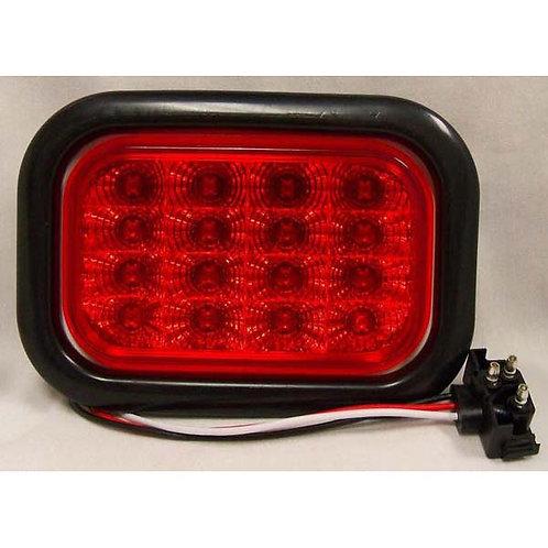S/T/T - Rectangle Kit - Red 16 LED