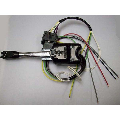 Turn Signal Switch - Black 11-Wire Hazard