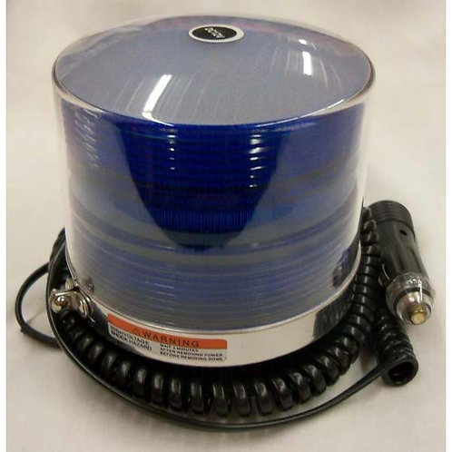 Blue Multi-Flash Strobe Light