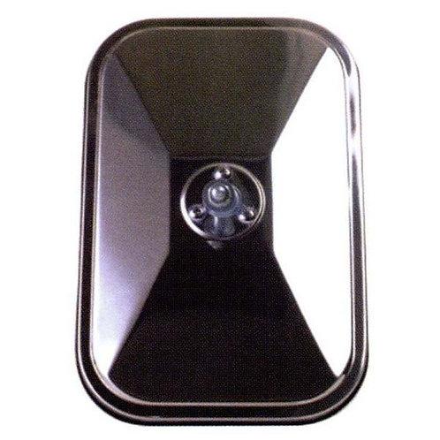Black Rectangular Mirror Head