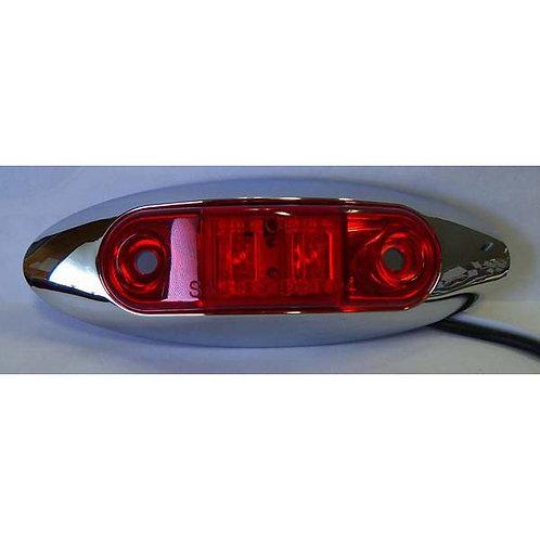 Red Clearance Marker Running Light Kit- 2 Led
