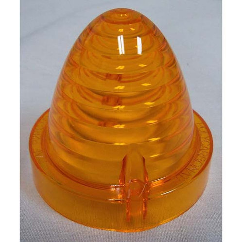 Lens - Amber Polycarbonate - 516/517 Series - Beehive